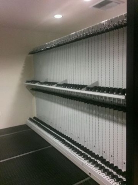 Mobile Shelving Weapon Storage System