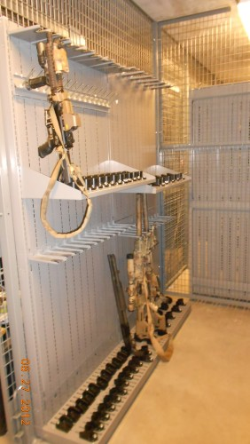 Military Weapon Storage Cages