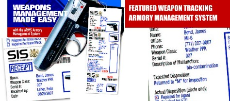 Combat Armory Management System