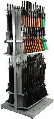 Double Sided Weapon Shelving with Rifle Base