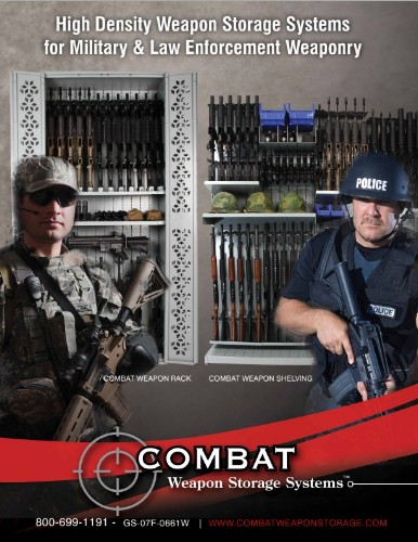 Combat Weapon Storage brochure