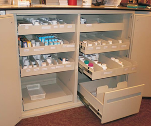 Drug Storage Lockers