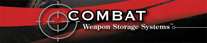 Combat Weapon Storage Systems - Weapon Storage for Police, Sheriff's Departments, Law Enforcement and Intelligence. Storage of rifles, pistols, crew served weapons and weapon accessories